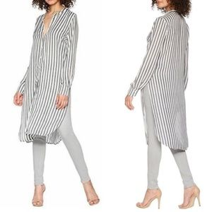 Bishop + Young Small striped button up tunic